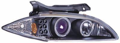 Headlights & Tail Lights - Headlights - In Pro Carwear - Chevrolet Cavalier In Pro Carwear Projector Headlights - CWS-327BL2