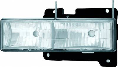 Headlights & Tail Lights - Headlights - In Pro Carwear - Chevrolet Suburban IPCW Headlights - Diamond Cut - 1 Pair - CWS-330