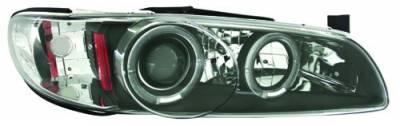 Headlights & Tail Lights - Headlights - In Pro Carwear - Pontiac Grand Prix IPCW Headlights - Projector - 1 Pair - CWS-339B2