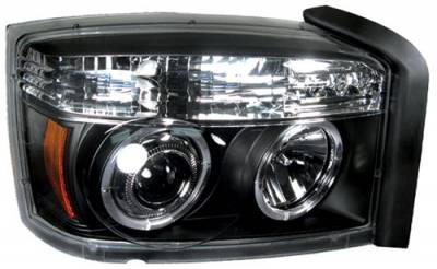 Headlights & Tail Lights - Headlights - In Pro Carwear - Dodge Dakota In Pro Carwear Projector Headlights - CWS-404B2