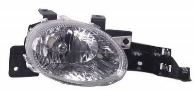 Headlights & Tail Lights - Headlights - In Pro Carwear - Dodge Neon IPCW Headlights - Diamond Cut - 1 Pair - CWS-410