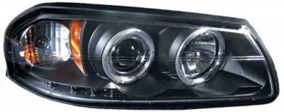 Headlights & Tail Lights - Headlights - In Pro Carwear - Dodge Ram In Pro Carwear Projector Headlights - CWS-422B2