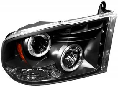 Headlights & Tail Lights - Headlights - In Pro Carwear - Dodge Ram In Pro Carwear Projector Headlights - CWS-423B2