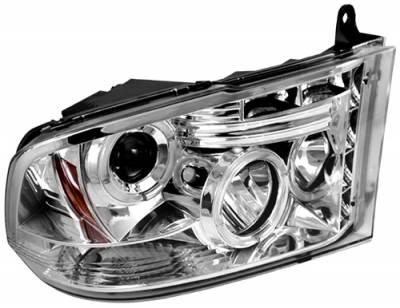 Headlights & Tail Lights - Headlights - In Pro Carwear - Dodge Ram In Pro Carwear Projector Headlights - CWS-423C2