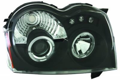 Headlights & Tail Lights - Headlights - In Pro Carwear - Jeep Grand Cherokee IPCW Headlights - Projector - 1 Pair - CWS-5005B2