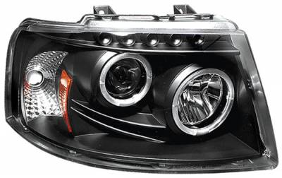Headlights & Tail Lights - Headlights - In Pro Carwear - Ford Expedition In Pro Carwear Projector Headlights - CWS-517B2