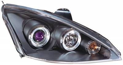 Headlights & Tail Lights - Headlights - In Pro Carwear - Ford Focus In Pro Carwear Projector Headlights - CWS-525BL2