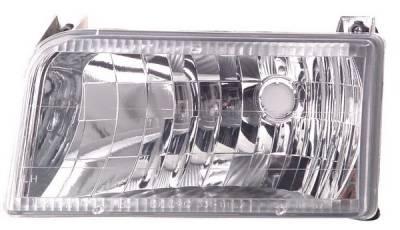 Headlights & Tail Lights - Headlights - In Pro Carwear - Ford F250 IPCW Headlights - Diamond Cut - 1 Pair - CWS-530