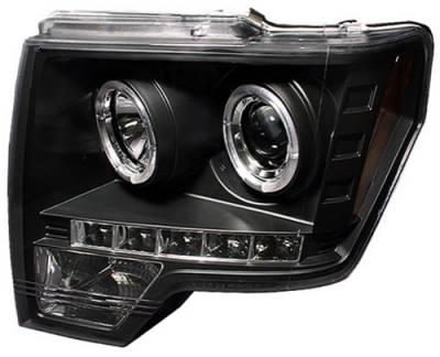 Headlights & Tail Lights - Headlights - In Pro Carwear - Ford F250 In Pro Carwear Projector Headlights - CWS-568B2