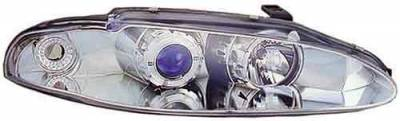 Headlights & Tail Lights - Headlights - In Pro Carwear - Mitsubishi Eclipse In Pro Carwear Projector Headlights - CWS-903CL2