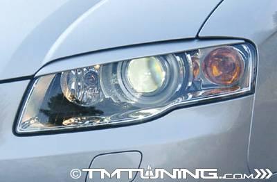 Headlights & Tail Lights - Headlights - Kamei - Straight Headlight Eyebrows