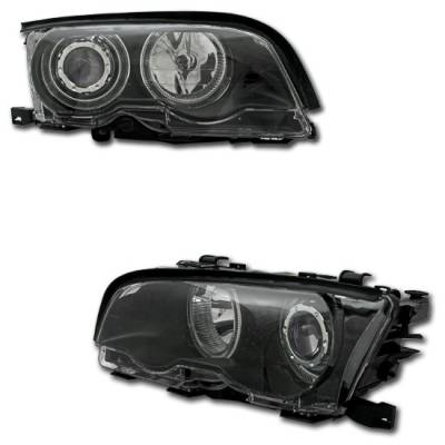 Headlights & Tail Lights - Headlights - MotorBlvd - BMW 3 Series E46 Headlights
