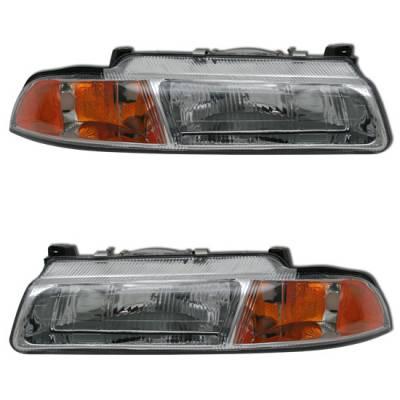 Headlights & Tail Lights - Headlights - MotorBlvd - Chrysler OEM Headlights
