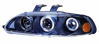 Headlights & Tail Lights - Headlights - In Pro Carwear - Honda Civic 4DR In Pro Carwear Projector Headlights