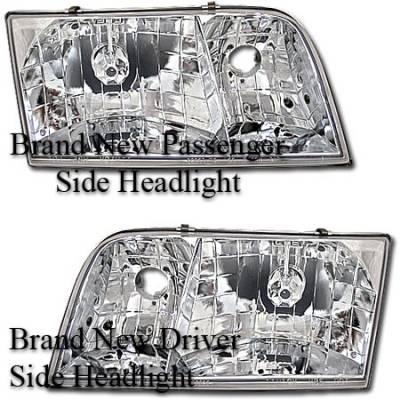 Headlights & Tail Lights - Headlights - MotorBlvd - Ford Headlights