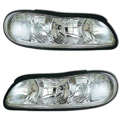 Headlights & Tail Lights - Headlights - MotorBlvd - OEM Replacement Headlights
