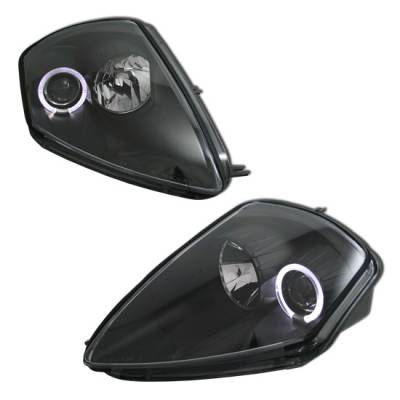 Headlights & Tail Lights - Headlights - MotorBlvd - Mitsubishi Eclipse Headlights