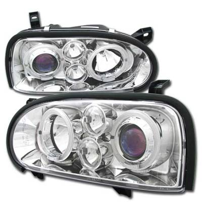 Headlights & Tail Lights - Headlights - MotorBlvd - Volkswagen Golf 3 Headlights
