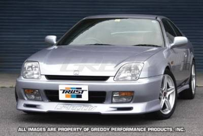 Greddy - Honda Prelude Greddy Gracer Aero-Style Front Lip Spoiler - Urethane - 17050062