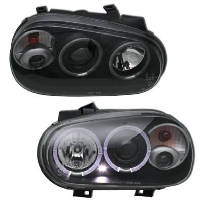 Headlights & Tail Lights - Headlights - MotorBlvd - Volkswagen Golf 4 Headlights