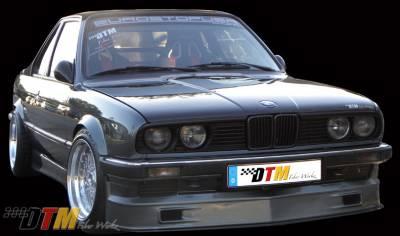 DTM Fiberwerkz - BMW 3 Series DTM Fiberwerkz Euro Alpina Style Front Apron - E30 Euro Alp