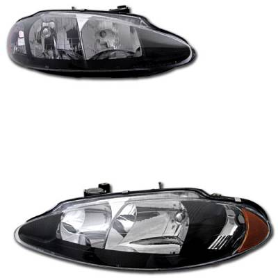 Headlights & Tail Lights - Headlights - MotorBlvd - Dodge Headlights