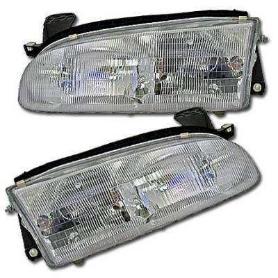 Headlights & Tail Lights - Headlights - MotorBlvd - Geo Headlights