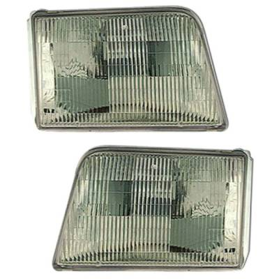 Headlights & Tail Lights - Headlights - MotorBlvd - Ford Ranger OEM Headlights