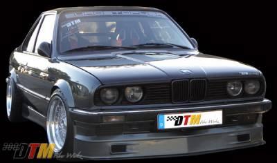 DTM Fiberwerkz - BMW 3 Series DTM Fiberwerkz Euro Alpina Style Front Apron - E30-EURO-ALP