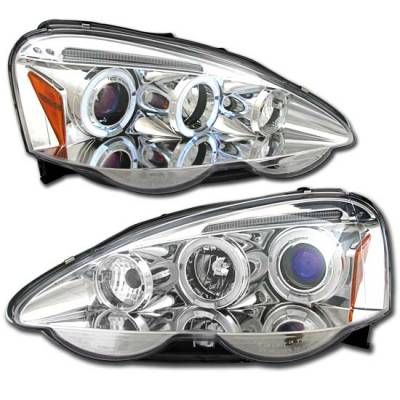 Headlights & Tail Lights - Headlights - MotorBlvd - Acure RSX Euro Projector Headlights