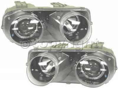 Factory OEM Auto Parts - OEM Lighting Parts - OEM - Euro Projector Headlight