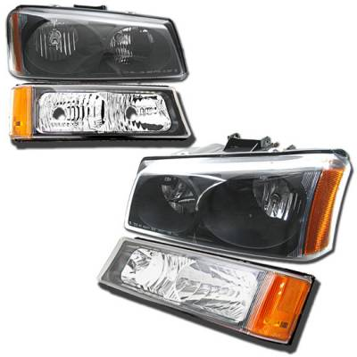 Headlights & Tail Lights - Headlights - MotorBlvd - Chevrolet Avalance & Silverado Headlights