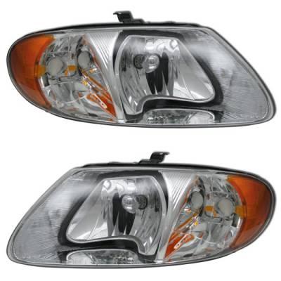 Headlights & Tail Lights - Headlights - MotorBlvd - Dodge Headlights