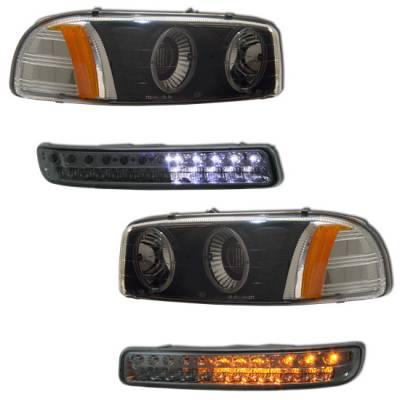Headlights & Tail Lights - Headlights - MotorBlvd - GMC Yukon & Sierra Headlights