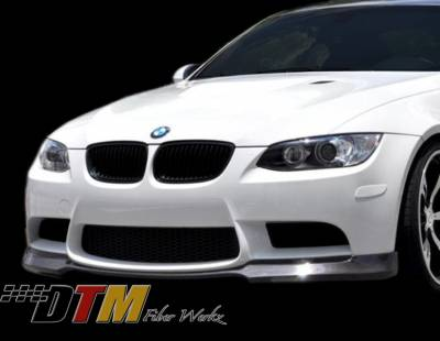 DTM Fiberwerkz - BMW 3 Series DTM Fiberwerkz ACS Style Front Lip - E9XACSF