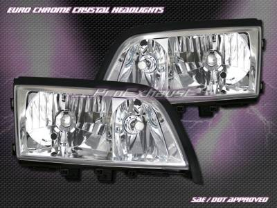Headlights & Tail Lights - Headlights - Motor Blvd - Chrome Crystal Headlights W202