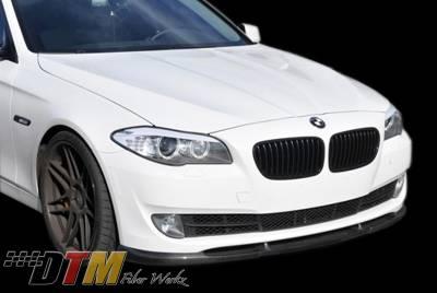 5 Series - Front Bumper - DTM Fiberwerkz - BMW 5 Series DTM Fiberwerkz HM Style Front Lip - F10HMLIP