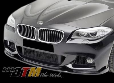 5 Series - Front Bumper - DTM Fiberwerkz - BMW 5 Series DTM Fiberwerkz M-Tech HM Style Front Lip - F10MHMLIP