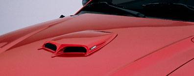 Focus ZX3 - Hood Scoops - Lund - Ford Focus Lund Hood Scoop - Small - 80003