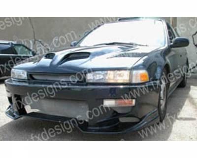 FX Design - Honda Accord FX Design Front Bumper - FX-757