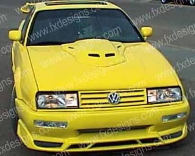 Corrado - Front Bumper - FX Designs - Volkswagen Corrado FX Design Front Bumper Cover - FX-8UT5NF