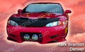 Tiburon - Front Bumper - FX Designs - Hyundai Tiburon FX Design Front Bumper - FX-921