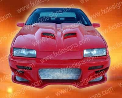FX Designs - Chevrolet Beretta FX Design VS Style Front Bumper - FX-936