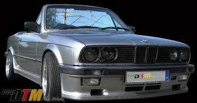 DTM Fiberwerkz - BMW 3 Series DTM Fiberwerkz Euro M-Tech I Style Front Apron - E30 Euro Mte