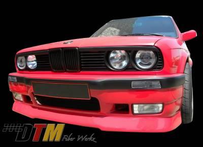 DTM Fiberwerkz - BMW 3 Series DTM Fiberwerkz E36 M3 Style Front Bumper - E30 E36 M3 S