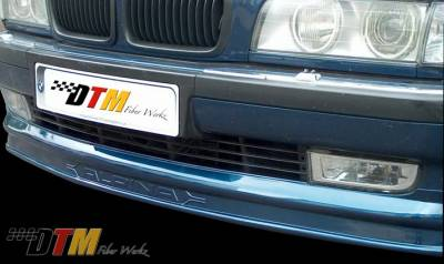 7 Series - Front Bumper - DTM Fiberwerkz - BMW 7 Series DTM Fiberwerkz Alpina Style Front Lip - E38 ALPINA S