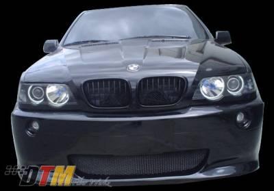 X5 - Front Bumper - DTM Fiberwerkz - BMW X5 DTM Fiberwerkz M5 Style Front Bumper - X5-E53-M5-ST