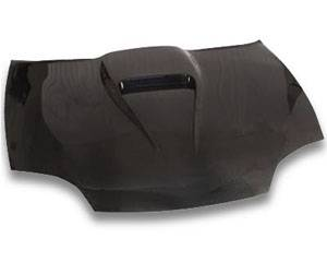 Cavalier 4Dr - Hoods - JSP - Chevrolet Cavalier JSP S-Scoop Style Carbon Fiber Hood - CFH015S