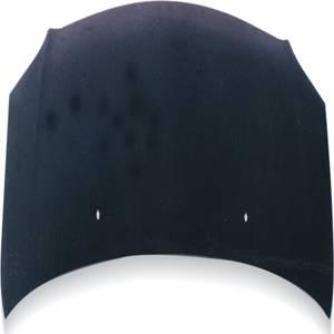 Sentra - Hoods - JSP - Nissan Sentra JSP M-Scoop Style Carbon Fiber Hood - CFH028MF