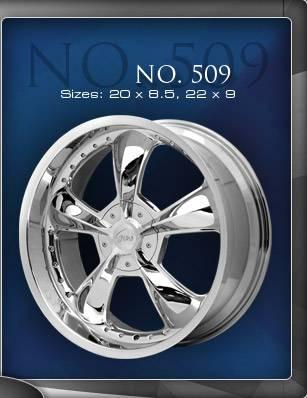 Wheels - Gino Wheel Sets - Gino - Gino 509